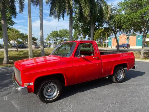 1984 Chevrolet C/K 10 Series for sale at BIG BOY DIESELS in Ft Lauderdale FL