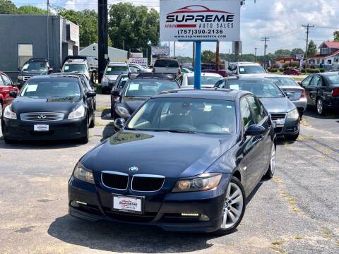 2007 BMW 3 Series for sale at Supreme Auto Sales in Chesapeake VA