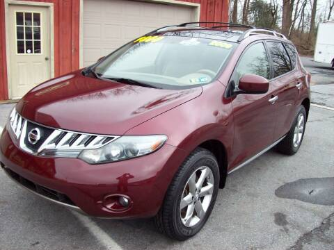 2009 Nissan Murano for sale at Clift Auto Sales in Annville PA
