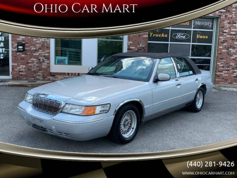 2002 Mercury Grand Marquis for sale at Ohio Car Mart in Elyria OH