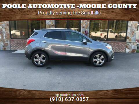 2014 Buick Encore for sale at Poole Automotive in Laurinburg NC