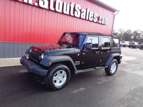 2014 Jeep Wrangler Unlimited for sale at Stout Sales in Fairborn OH
