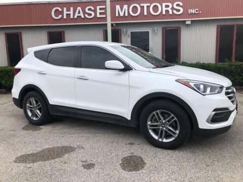 2018 Hyundai Santa Fe Sport for sale at Chase Motors Inc in Stafford TX