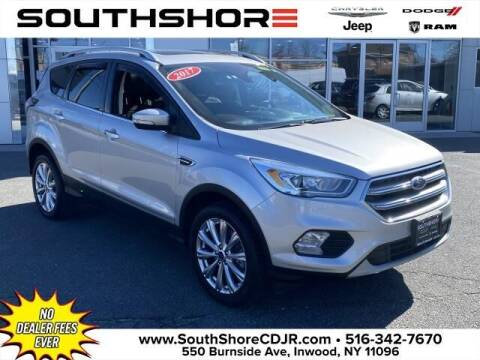2017 Ford Escape for sale at South Shore Chrysler Dodge Jeep Ram in Inwood NY
