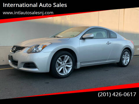 2012 Nissan Altima for sale at International Auto Sales in Hasbrouck Heights NJ