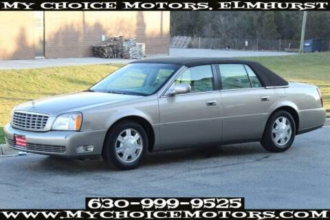 2004 Cadillac DeVille for sale at My Choice Motors Elmhurst in Elmhurst IL