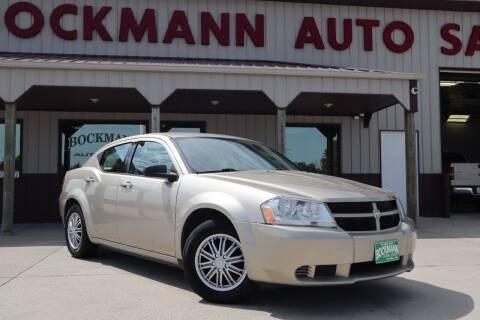 2009 Dodge Avenger for sale at Bockmann Auto Sales in Saint Paul NE