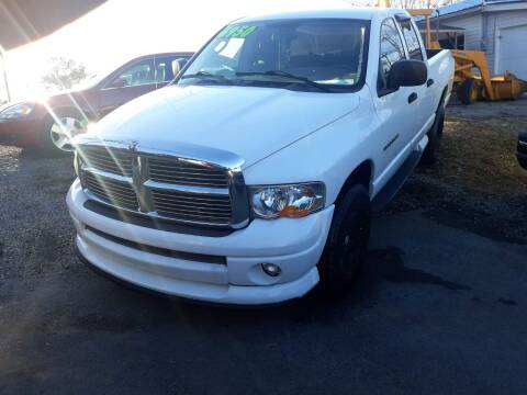2003 Dodge Ram Pickup 1500 for sale at Rocket Center Auto Sales in Mount Carmel TN