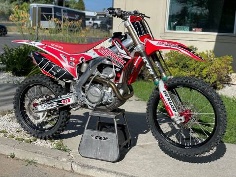 2013 Honda CRF 450R for sale at Harper Motorsports-Powersports in Post Falls ID