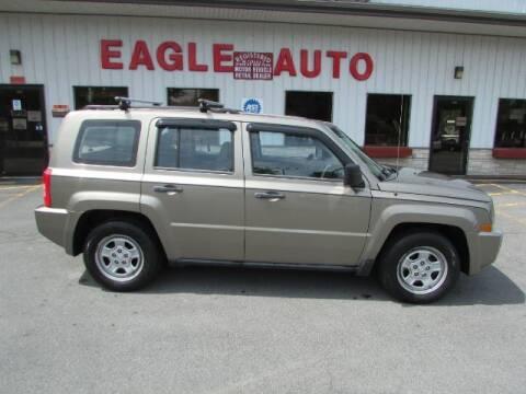 2008 Jeep Patriot for sale at Eagle Auto Center in Seneca Falls NY