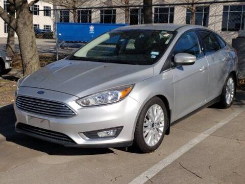 2016 Ford Focus for sale at Don Herring Mitsubishi in Plano TX