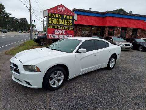 2011 Dodge Charger for sale at HW Auto Wholesale in Norfolk VA