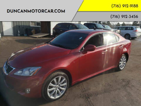 2008 Lexus IS 250 for sale at DuncanMotorcar.com in Buffalo NY