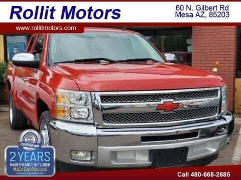 2013 Chevrolet Silverado 1500 for sale at Rollit Motors in Mesa AZ
