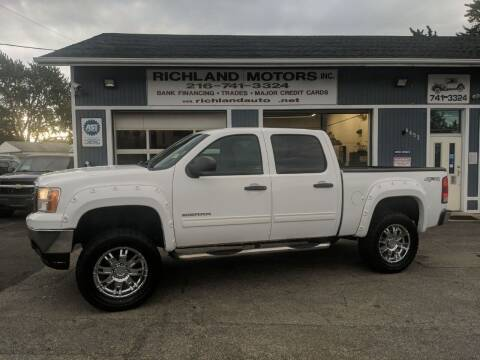 2012 GMC Sierra 1500 for sale at Richland Motors in Cleveland OH