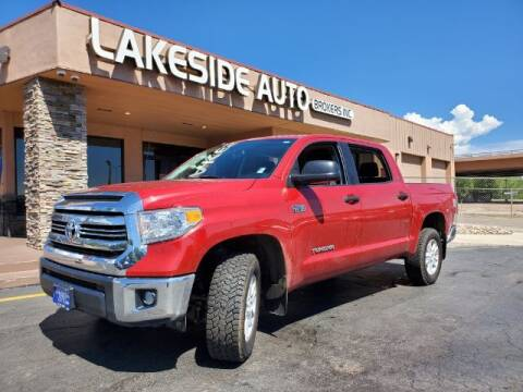 2017 Toyota Tundra for sale at Lakeside Auto Brokers Inc. in Colorado Springs CO