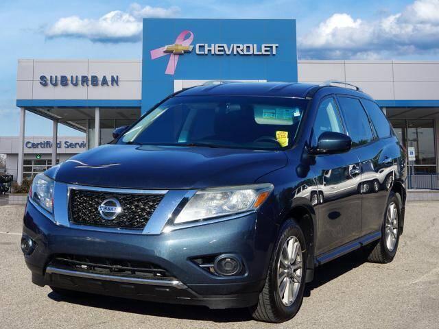 2014 Nissan Pathfinder for sale at Suburban Chevrolet of Ann Arbor in Ann Arbor MI