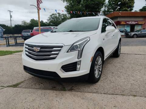 2017 Cadillac XT5 for sale at Lamarina Auto Sales in Dearborn Heights MI