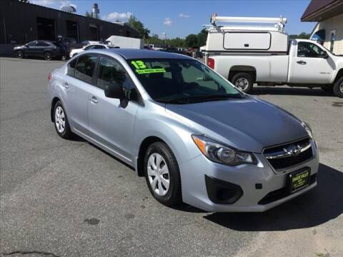 2013 Subaru Impreza for sale at SHAKER VALLEY AUTO SALES in Enfield NH