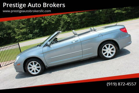 2008 Chrysler Sebring for sale at Prestige Auto Brokers in Raleigh NC