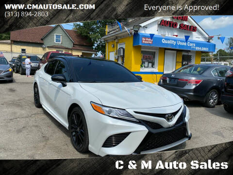 2020 Toyota Camry for sale at C & M Auto Sales in Detroit MI