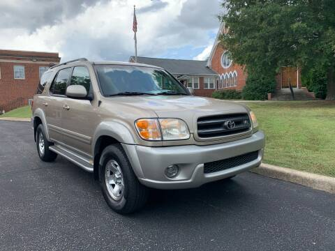 2002 Toyota Sequoia for sale at Automax of Eden in Eden NC
