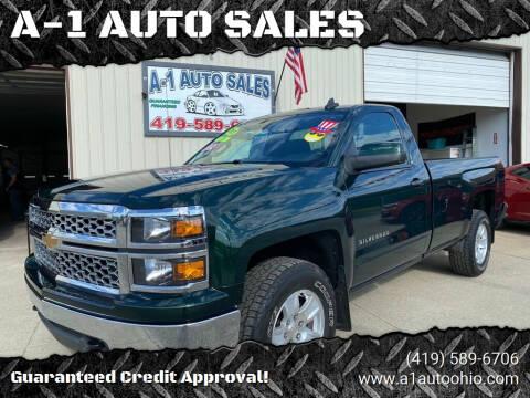 2015 Chevrolet Silverado 1500 for sale at A-1 AUTO SALES in Mansfield OH