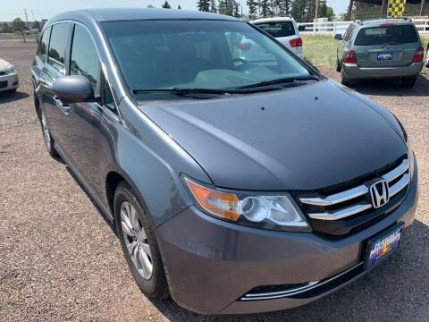 2014 Honda Odyssey for sale at Praylea's Auto Sales in Peyton CO