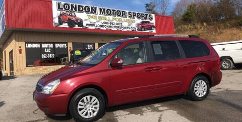 2012 Kia Sedona for sale at London Motor Sports, LLC in London KY