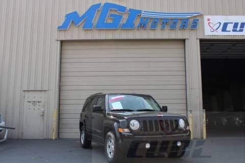 2017 Jeep Patriot for sale at MGI Motors in Sacramento CA