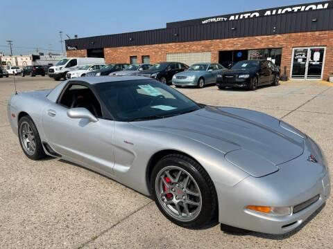 2001 Chevrolet Corvette for sale at Motor City Auto Auction in Fraser MI