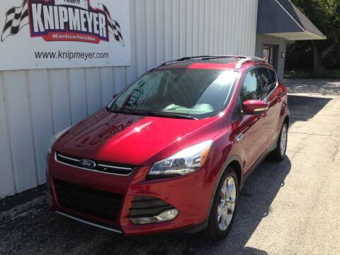 2014 Ford Escape for sale at Team Knipmeyer in Beardstown IL