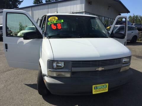 2000 Chevrolet Astro Cargo for sale at Federal Way Auto Sales in Federal Way WA