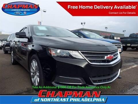 2016 Chevrolet Impala for sale at CHAPMAN FORD NORTHEAST PHILADELPHIA in Philadelphia PA