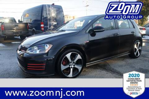 2017 Volkswagen Golf GTI for sale at Zoom Auto Group in Parsippany NJ
