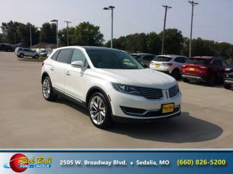 2017 Lincoln MKX for sale at RICK BALL FORD in Sedalia MO