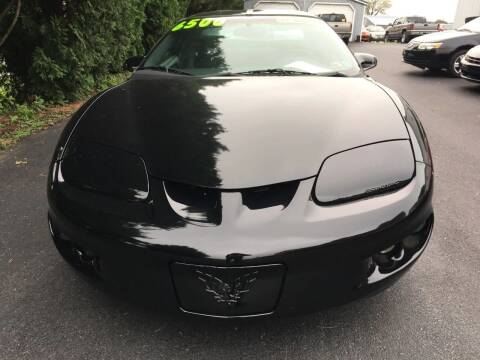 1998 Pontiac Firebird for sale at BIRD'S AUTOMOTIVE & CUSTOMS in Ephrata PA