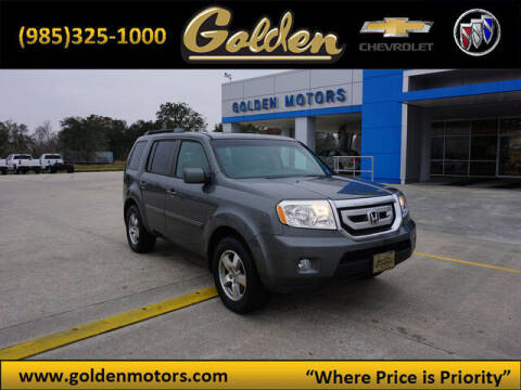2009 Honda Pilot for sale at GOLDEN MOTORS in Cut Off LA