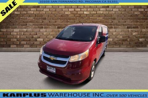 2015 Chevrolet City Express Cargo for sale at Karplus Warehouse in Pacoima CA