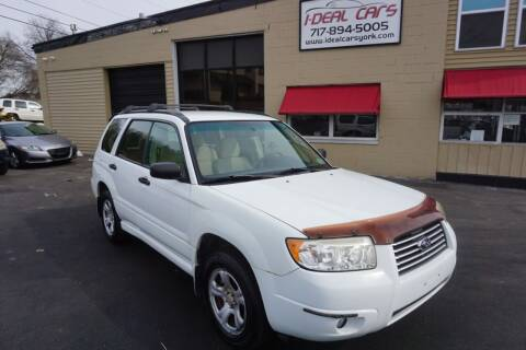 2007 Subaru Forester for sale at I-Deal Cars LLC in York PA