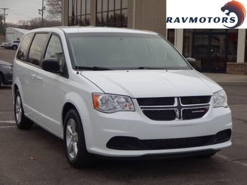 2018 Dodge Grand Caravan for sale at RAVMOTORS 2 in Crystal MN