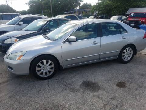 2007 Honda Accord for sale at P S AUTO ENTERPRISES INC in Miramar FL