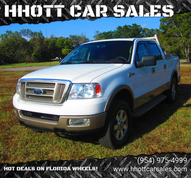 2005 Ford F-150 for sale at HHOTT CAR SALES in Deerfield Beach FL