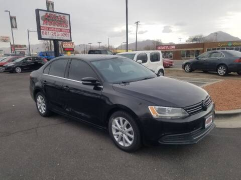 2013 Volkswagen Jetta for sale at ATLAS MOTORS INC in Salt Lake City UT