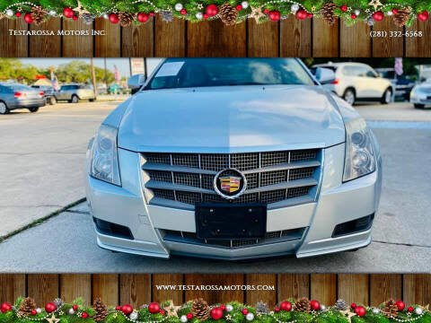 2011 Cadillac CTS for sale at Testarossa Motors Inc. in League City TX