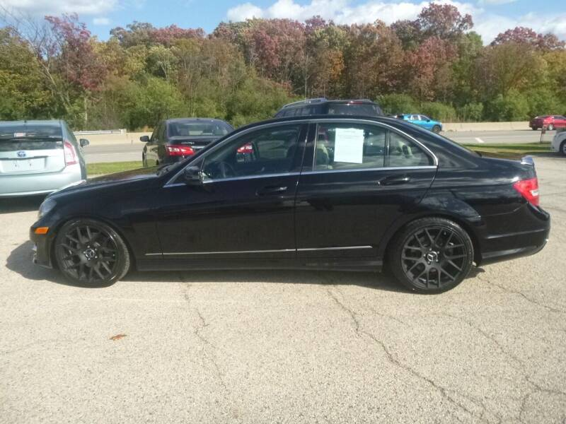 2013 Mercedes-Benz C-Class for sale at NEW RIDE INC in Evanston IL