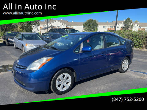 2009 Toyota Prius for sale at All In Auto Inc in Palatine IL