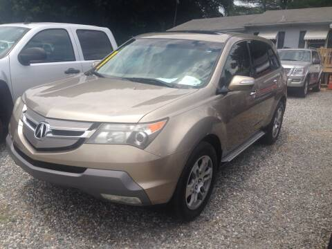 2007 Acura MDX for sale at Venable & Son Auto Sales in Walnut Cove NC