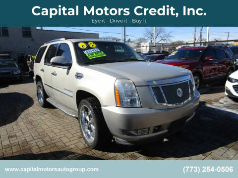 2008 Cadillac Escalade for sale at Capital Motors Credit, Inc. in Chicago IL