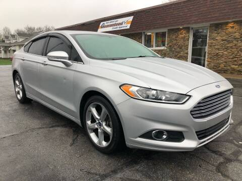 2013 Ford Fusion for sale at Approved Motors in Dillonvale OH